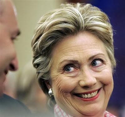 hilarious pics. Scary Or Hilarious Hillary