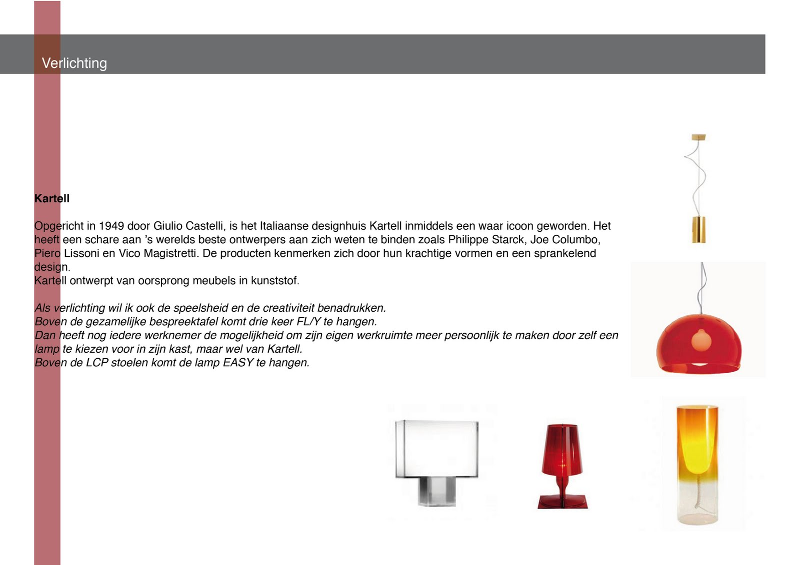 Verlichting Kenmerken. Technische Kenmerken Van De Verlichting ...