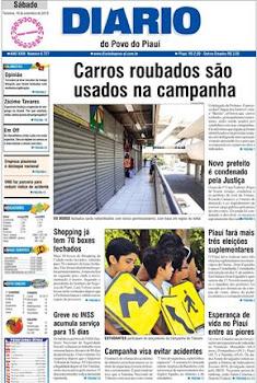"""Jornal """"Diário do Povo"""" de hoje - versão digital"""