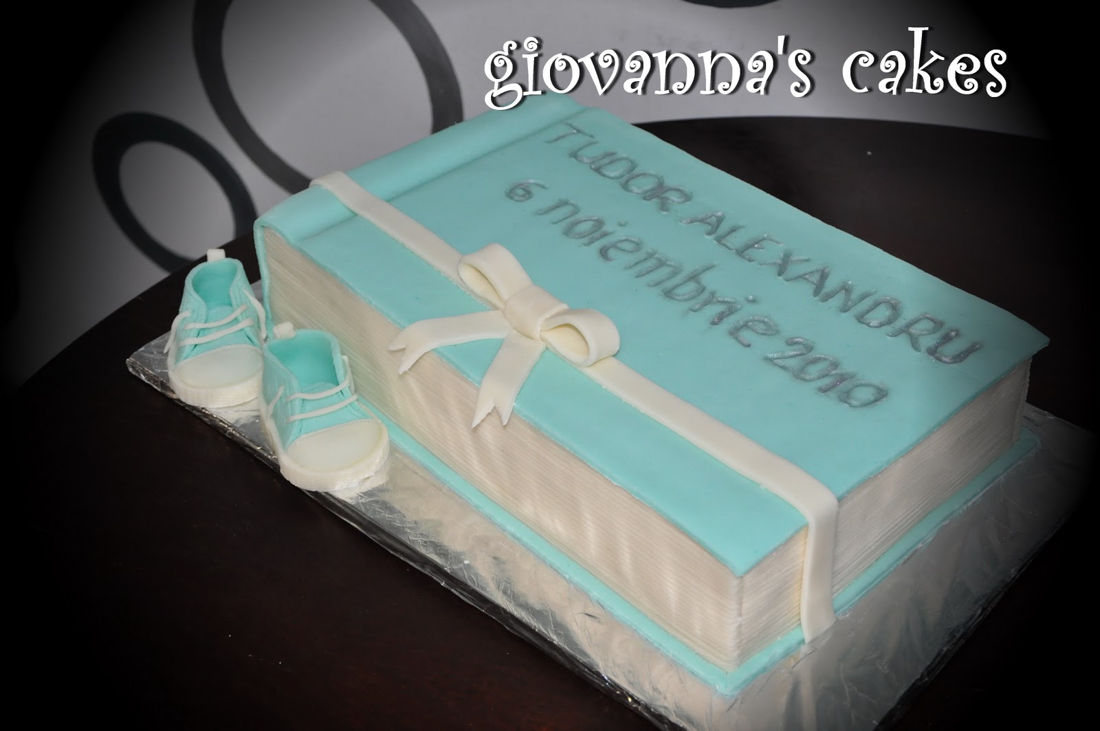 Christening Cake Book Design : Book Christening Cake Cake Ideas and Designs