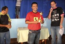 Diretor Carlinhos, José Roberto e Luis Sérgio