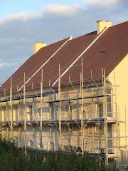 La maison en contruction en septembre