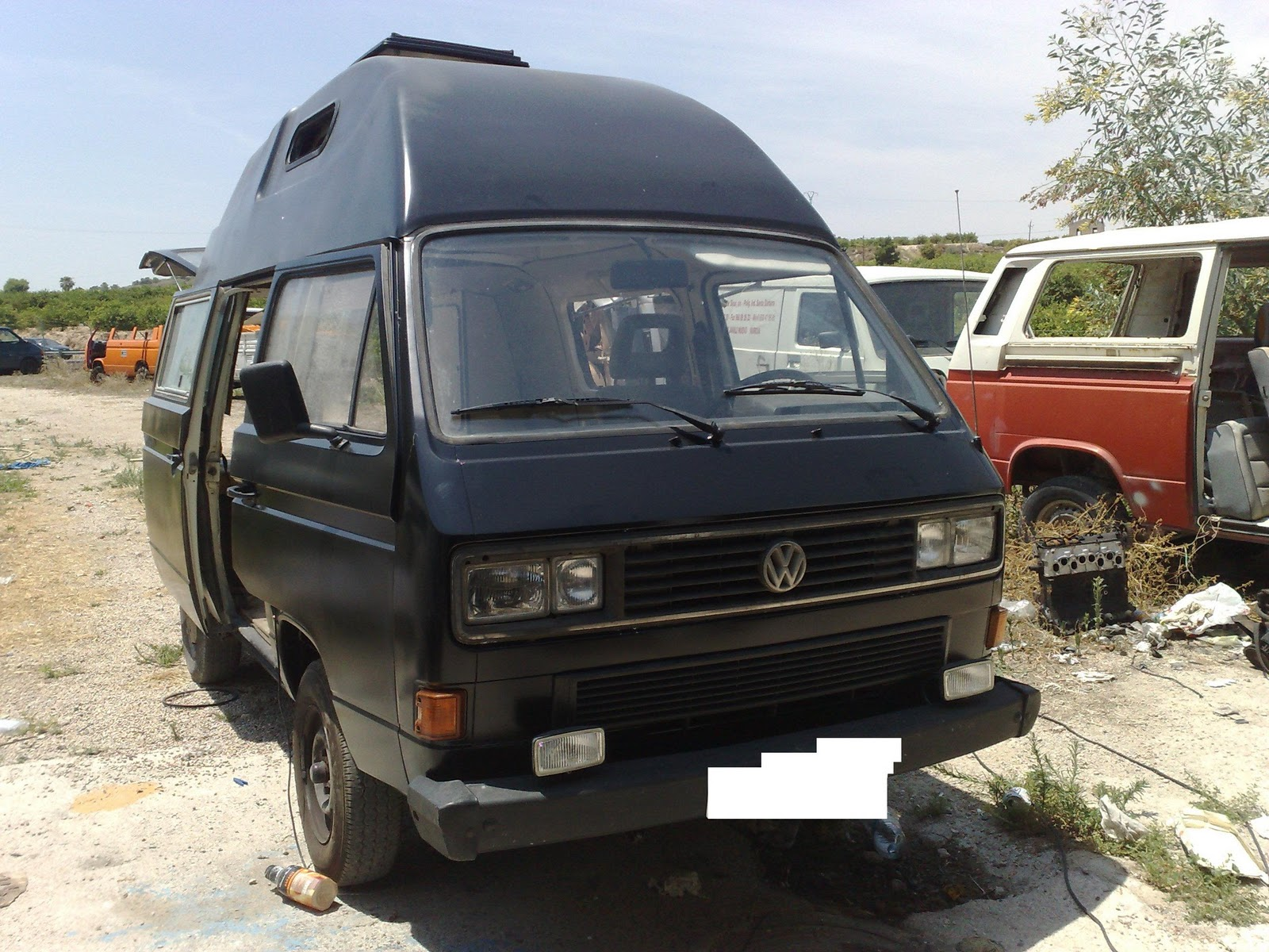 Furgoneta vw t3 camper old school vendo furgoneta vw t3 for Vendo furgoneta camper