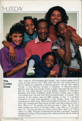 Bill Cosby already had two previous NBC series (I SPY in 1965 and THE BILL ...