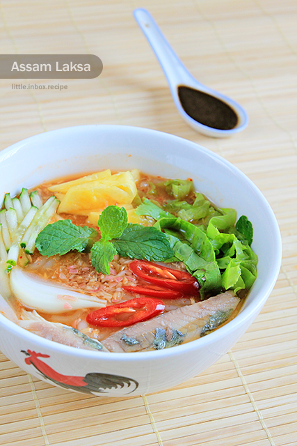 asam laksa penang. Assam laksa is one of Penang#39;s