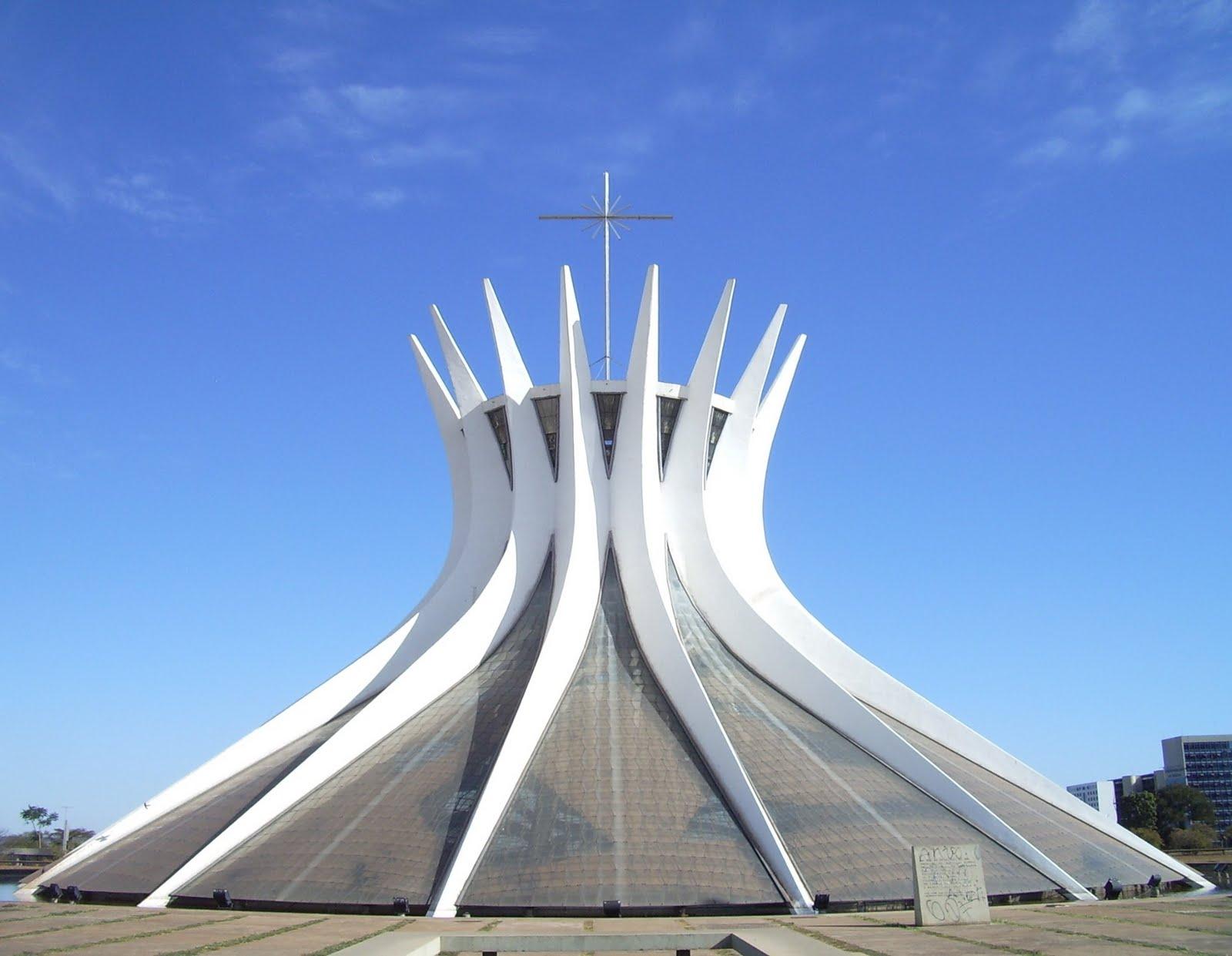 Arquitectura espectacular catedral de brasilia - Arquitecto de brasilia ...