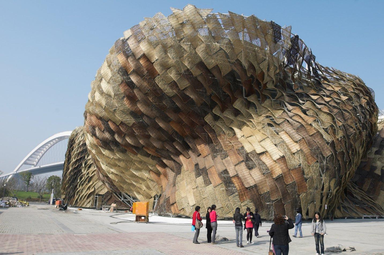 Arquitectura espectacular pabellon espa a shanghai for Pabellones arquitectura efimera
