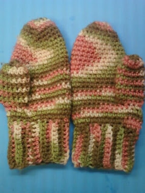 Knitting Pattern For Hunting Mittens : Janet Maries Crochet and Knit Projects and Free Patterns: FREE CROCHET P...