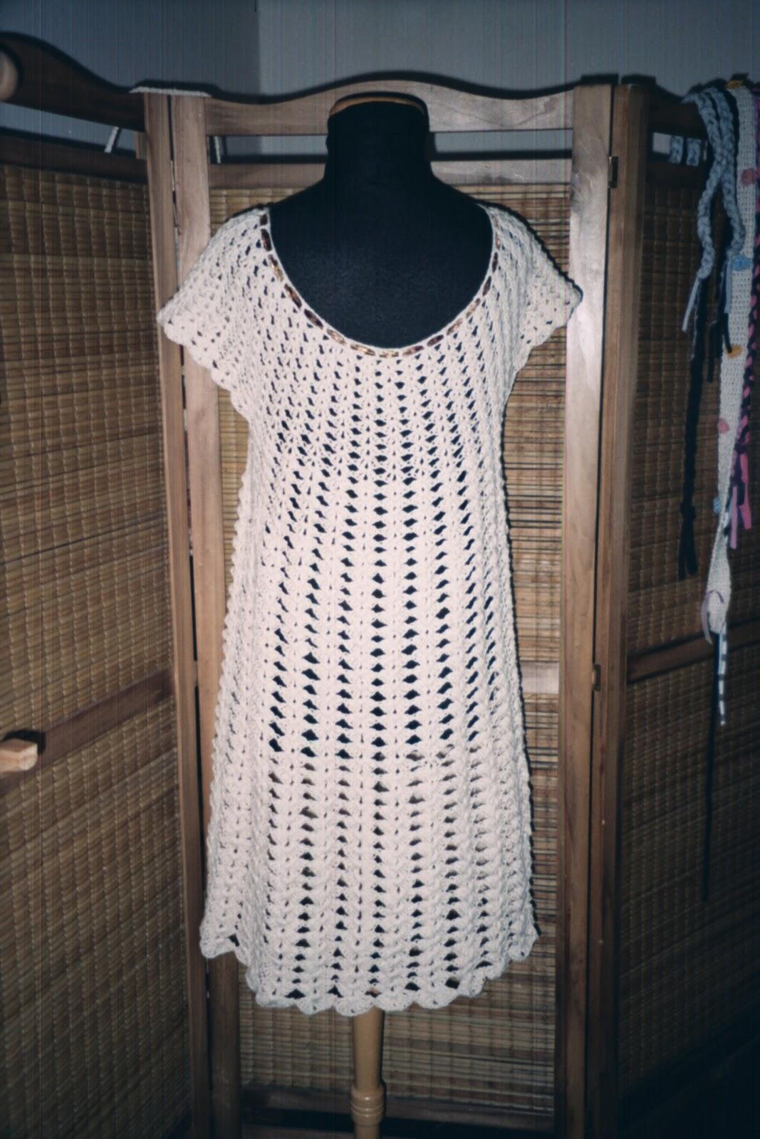 Vestidos Playeros Tejidos Al Crochet Con Patrones