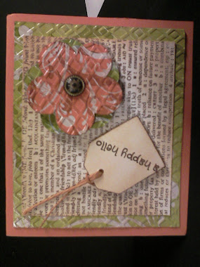 Tissue Box Card Embossed