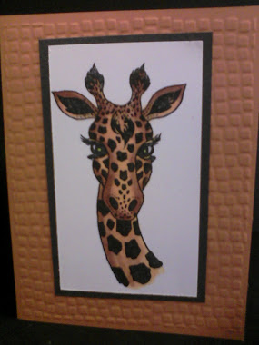 Copics Giraffe Embossed