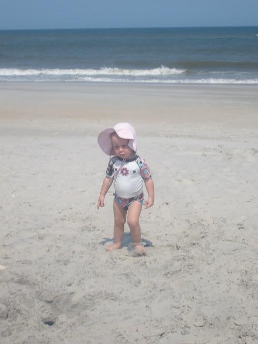 Mya on Beach