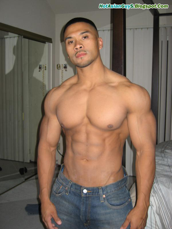 beefy naked japanese male