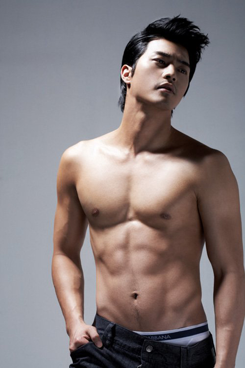 Shirtless asian male actors
