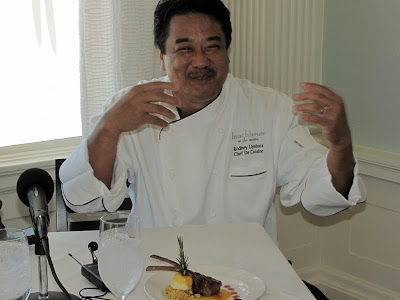 Chef Rodney Uyehara, Beach House at the Moana
