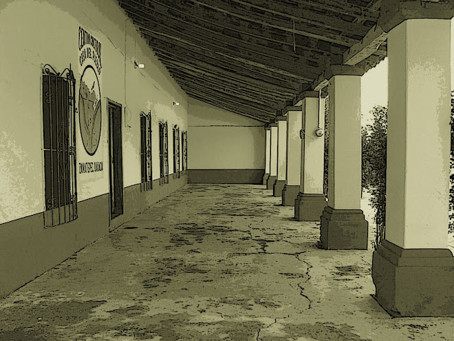 Edificio de la primera escuela pública de Zanatepec