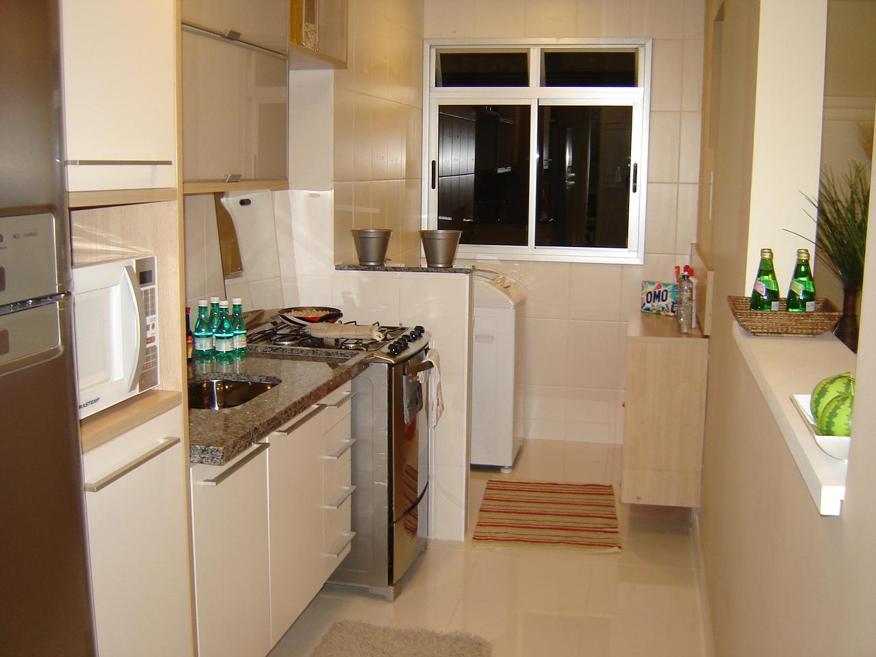 idéia de como é o meu apartamento a mini cozinha e área de serviço #8E6C3D 1280 960