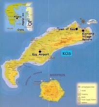Kaart van Kos!