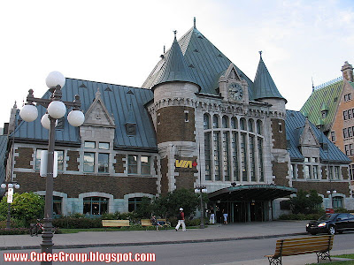 Gare du Palais-Québec (Canada)