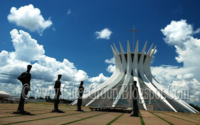 Cathedral of  Brasilia (  Brazil )