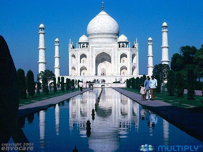 THE TAJ MAHAL of INDIA