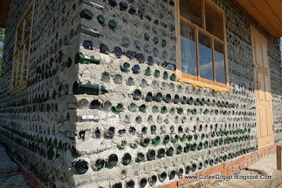 Russian Woman Builds Glass Bottle House