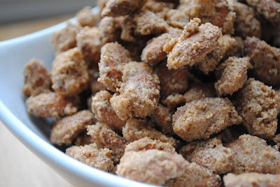 Homemade By Holman: Cinnamon Roasted Almonds