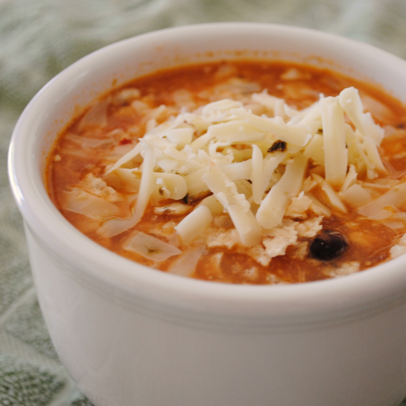 number two spot is this recipe for Chicken Enchilada Soup . Perfect ...