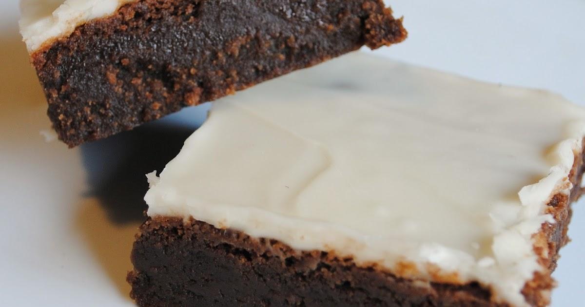 Homemade By Holman: Kahlua Fudge Brownies