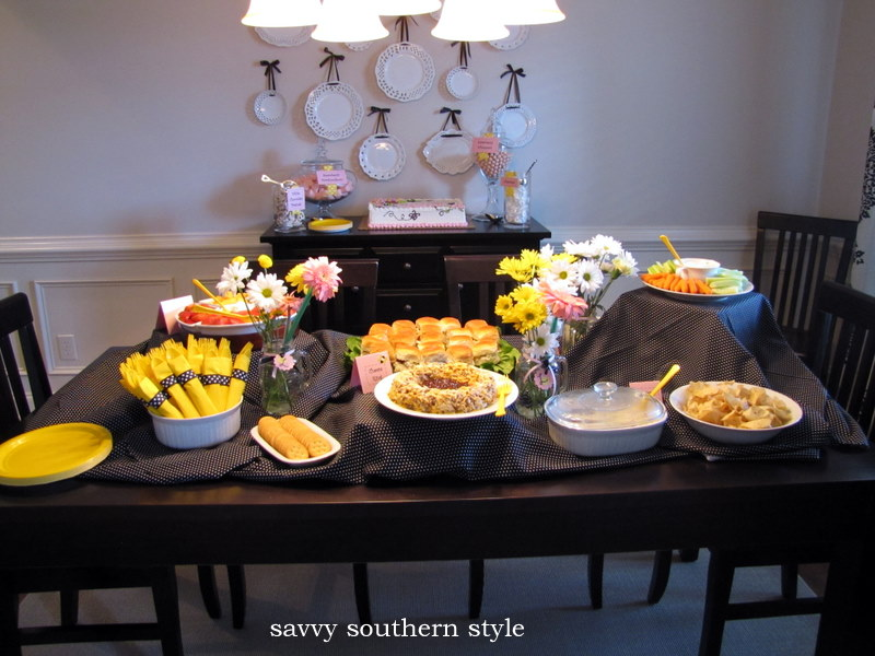Savvy Southern Style Baby Shower Part Iiie Food And Drinks