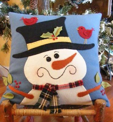 Camino de mesa navideño en paño lenci (fieltro)