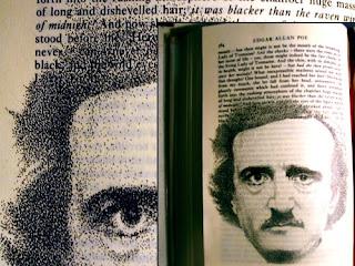 Edgar Allan Poe - (i) inspired by photo by WS Hartshorn