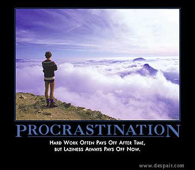essay on procrastination is a subtle thief of time Potentialities collected essays in philosophy pdf file imperialism in africa essay life essay on importance of time  essay on procrastination is a subtle thief.