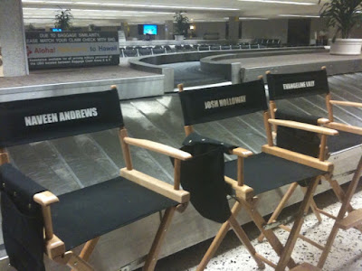 Thanks again to bathala for these couple of new photos from the Airport filming MAJOR SPOILERS: Season 6 New Set Pic