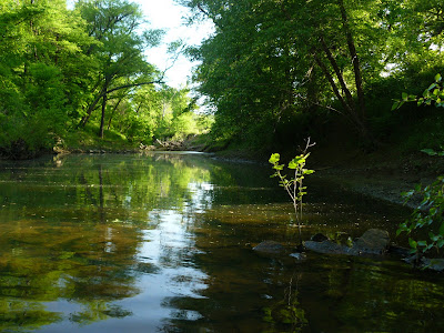 Grave Creek in Mcintosh County Oklahoma