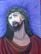 PINTURA A OLEO (JESUS)