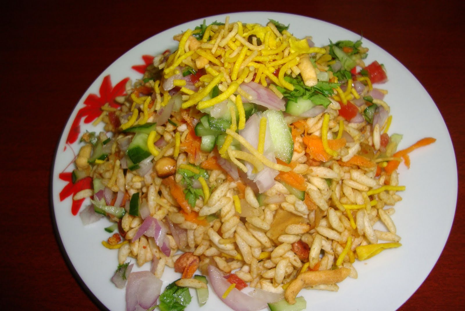 how to make red chutney for bhel puri
