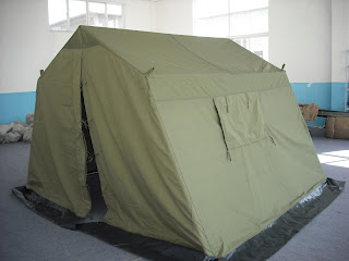 The new 9x9 command tent! & Pathfinders Diary: The new 9x9 command tent!