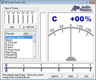 Free Aplikasi | Software Guitar Free Download AP Guitar Tuner 1.02