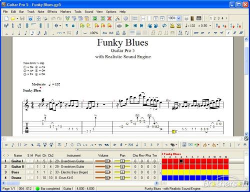 Free Aplikasi | Software Guitar Pro for Mac 5.2 Download