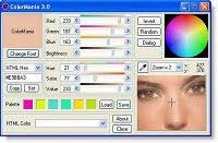 Software untuk memilih dan menentukan warna