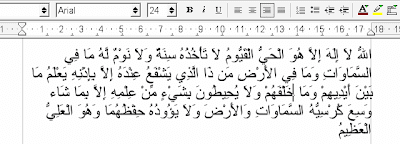 Kumpulan Font Arab gratis