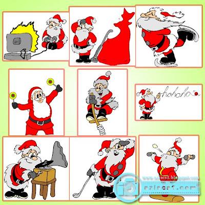 Kumpulan Clip Art Natal & Sinterkelas