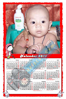 Frame Kalender 2011 untuk anak anak