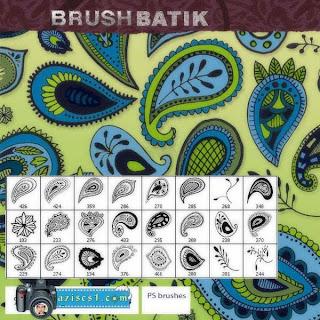 Brush Motif Batik