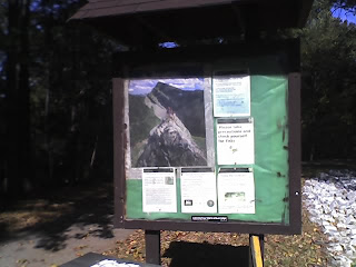 Greenbelt National Park Entrance Notice Board