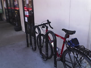 Bike Rack at Kmart