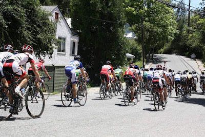Masters Biking in Nevada City Classic