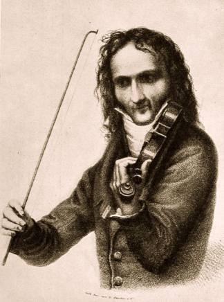 Paganini le Capricieux  dans Histoire paganini