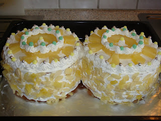 Pineapple Cream Cake